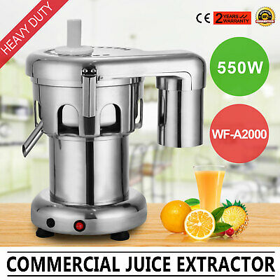 550W Heavy Duty Juicer 2800RPM 100~120Kg/Hour For commercial use