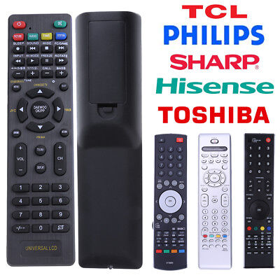 Universal TV Remote Control Replacement for Sharp Philips Toshiba Hisense TV Lot
