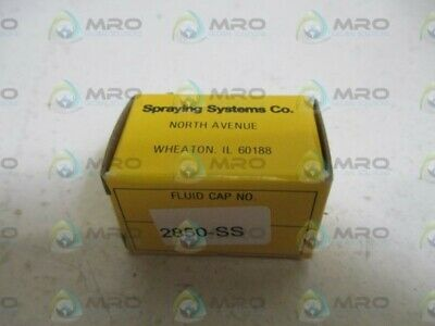 Spraying Systems Co. 2850-Ss Fluid Cap * New In Box *