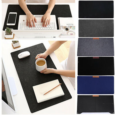 Felt Cloth Large Size Extended Gaming Mouse Desk Pad Mat Keyboard fr PC Computer