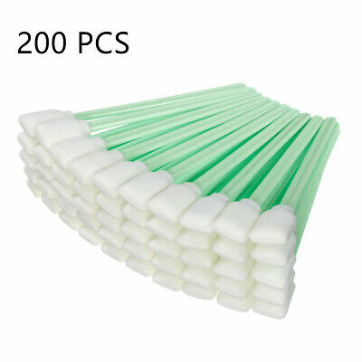 Sponge Tip Cleaning Swabs for Printer Roland Mutoh Mimaki Cleaning Stick 200pcs