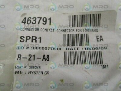 Hyster  388248 Connector * New No Box *