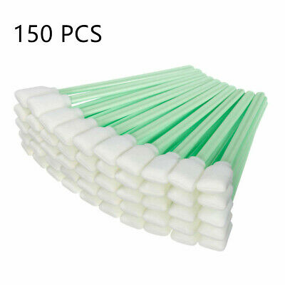 Sponge Tip Cleaning Swabs for Printer Roland Mutoh Mimaki Cleaning Stick 150pcs