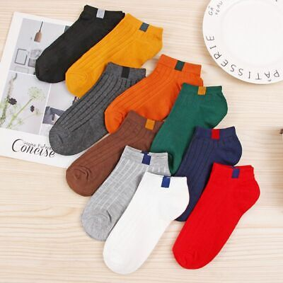 725191432 1Pair Women Girls Candy Color Ankle Short Socks Low Cut Sports Crew Socks US