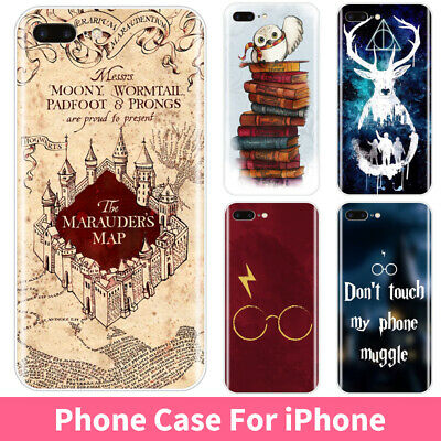 Harry Potter Soft Silicone Phone Case Cover For iPhone XR X 8 7 6 6S Plus 5S SE