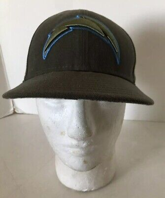 finest selection a2fdd 35489 Los Angeles Chargers Camo Salute to Service New Era On-Field Fitted Hat Size  7