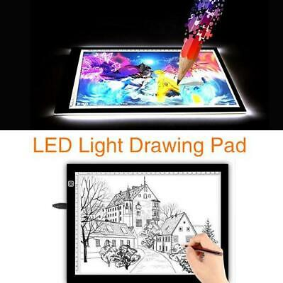 LED A4 Tracing Light  Box Artist Stencil Drawing Pad Painting Drawing Board