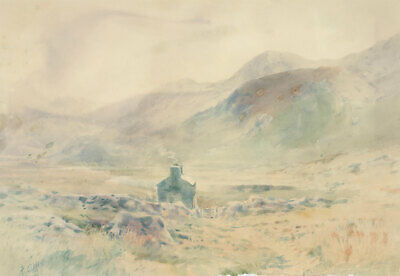 Philip Osment (1861-1947) - Early 20th Century Watercolour, Welsh Landscape
