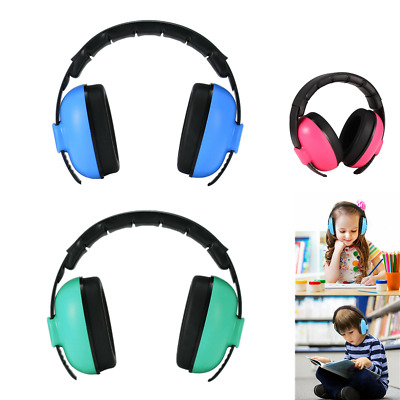 Kids Folding Ear Defenders Noise Reduction Protectors Muff Children Baby Gift UK