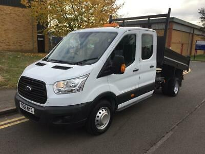2015 Ford Transit 2.2 TDCi 350 L3H1 Double Cab 1-Way Tipper RWD 4dr Manual Tippe