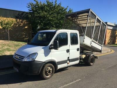2008 Iveco Daily 2.3 TD 35C12 HD Crew Cage Tipper Manual Tipper