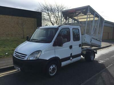 2008 Iveco Daily 2.3 TD 35C12 HD Crewcab Cage Tipper Manual Tipper