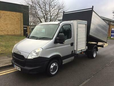 2015 Iveco Daily 35C13 LWB Silver Tipper Manual Tipper
