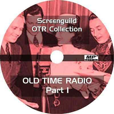 * SCREEN GUILD THEATER (OTR) OLD TIME RADIO SHOWS * 348 EPISODES on MP3 DVD *