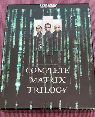 The Complete Matrix Trilogy - Keanu Reeves (US 3 x HD DVD, 2007)