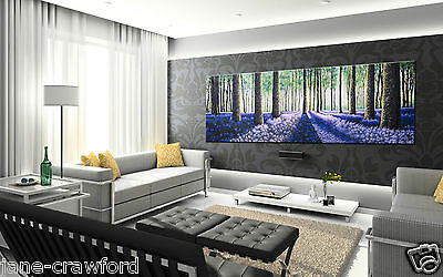 art painting landscape  modern canvas tree forest woods original PAINTED