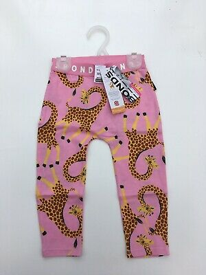 Bonds Leggings Giraffe Print 12-18 Months