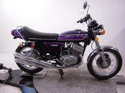 1975 Kawasaki H2C 750 Mach IV Unregistered US Import  Classic Restoration Proj