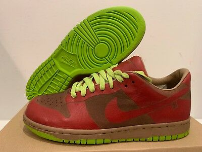 timeless design 2b2d3 33cc4 Nike Dunk Low Piece Laser Varsity Red Chartreuse Size 8 (Offer)