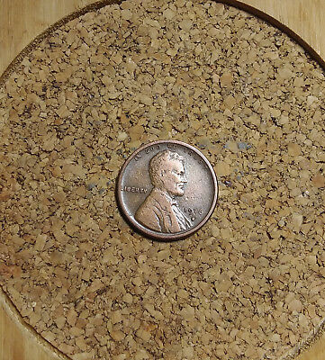 """1916 S Lincoln Wheat Cent Penny  LH795 OLD """"TUCK""""  FREE FAST SHIPPING"""