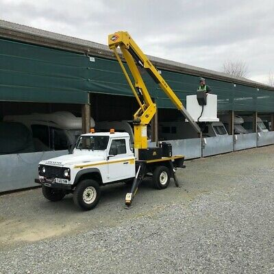 Cherry picker hire in Kent and surrounding areas with operator