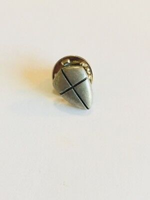 Joshua 1:96 Shield of Faith Lapel Pin  #