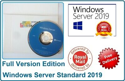 Microsoft Windows Server 2019 Standard 64BIT 2CPU 16CORES 2VMs Builder Pack