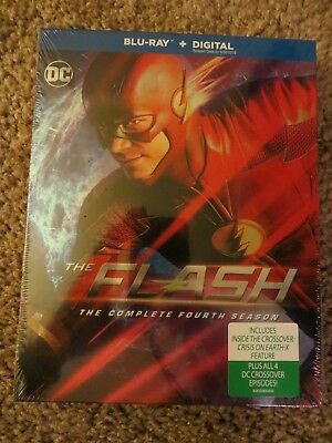 The Flash: The Complete Fourth Season (Blu-ray Disc, 2018) BRAND NEW!!