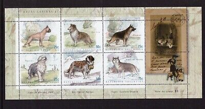 Argentina MNH 1999 Dogs, Pets sheet mint stamps