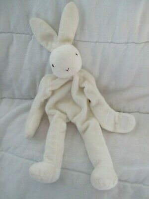 Bunnies by the Bay Pelly The Pelican soft white stripe knit plush toy NEW