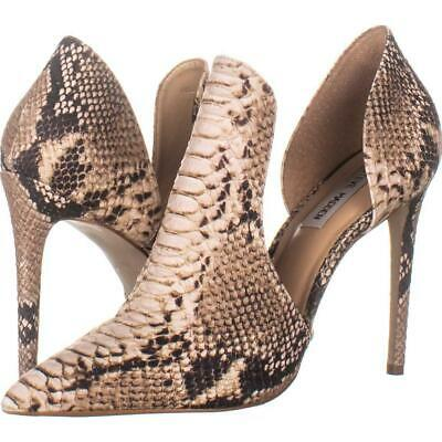 b37718636c STEVE MADDEN DOLLY Pointed Toe Pumps 459, Natural Snake, 10 US ...