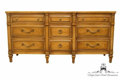 "DREXEL HERITAGE San Remo Collection 65"" Triple Dresser 431-131-2 w. Stone Ins..."