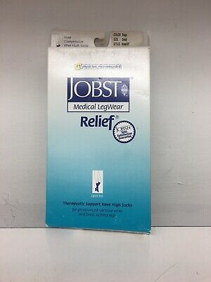 Jobst Medical Legware 20-30 MmHg Beige Small Open Toe Knee Free Shipping