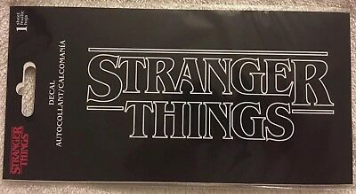 Netflix Official STRANGER THINGS Auto Decal/Sticker