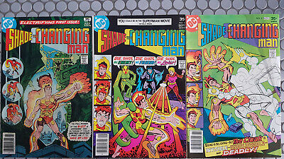 Dc Comics Shade The Changing Man #1 #2 #3 Story And Art Steve Ditko Great Value!