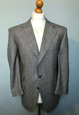Vintage chester barrie flannel prince of Wales suit size 42 short