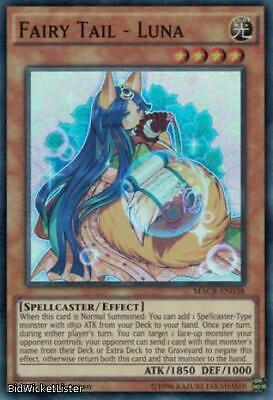 MACR-EN038 1st Edition Yu-Gi-Oh! NM//M 6X Fairy Tail Super Rare Luna