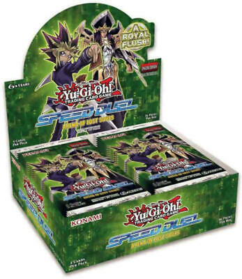 YuGiOh English Arena of Lost Souls Speed Duel 1st ed Booster Box SEALED!!