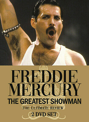 FREDDIE MERCURY of QUEEN New Sealed 2019 COMPLETE HISTORY & BIOGRAPHY 2 DVD SET