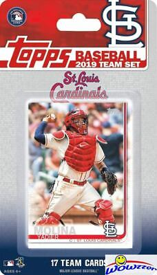 St Louis Cardinals 2019 Topps Factory Sealed Team Set