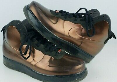 "brand new 8a2a8 73016 Nike Air Force 1 Size 10.5 Foamposite BHM QS ""Black History Month"" 586583  800"