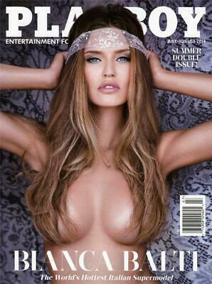 Playboy - July/August  2014 - Blanca Balti - Summer Double Issue