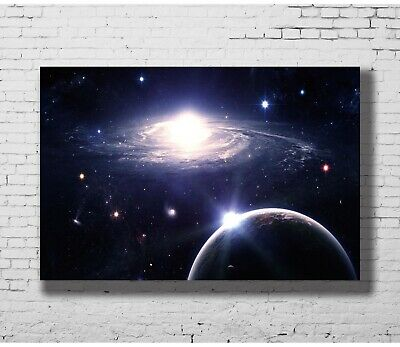 C1493 Galaxy Outer Space Nasa Universe Art Silk Poster 20x30 24x36inch