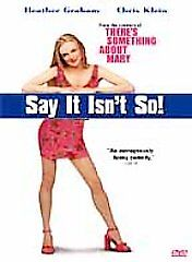 Say It Isnt So (DVD, Widescreen) - **DISC ONLY**