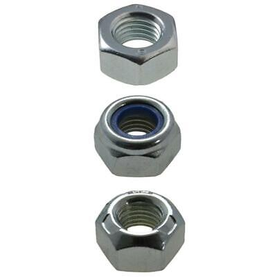 M14 (14mm) x 1.50 pitch Nuts METRIC FINE High Tensile Zinc Plated