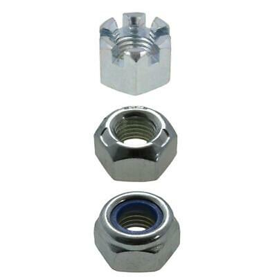 M16 (16mm) x 1.50 pitch Nuts METRIC FINE High Tensile Zinc Plated