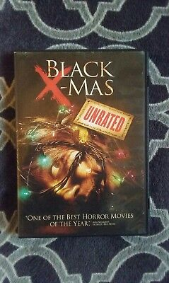 Black X-Mas Dvd Holiday Horror Christmas Slasher Unrated Version