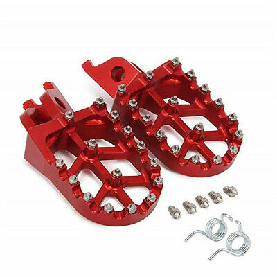Motorcycle Foot Rest Footpegs Pedals For Honda CR125 CR250 CRF250R/X CRF450R/X
