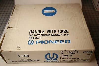 Pioneer MA-9 Mic Mixer Digital Echo Karaoke Multi Voltage Model In Original Box