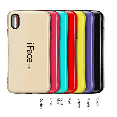 For iPhone X XS XR MAX 8 7 6 + Heavy Duty iFace mall Case Shockproof TPU Cover